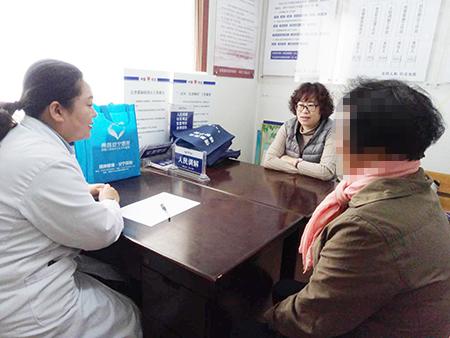青岛安宁医院社区心理咨询室在合肥路街道劲松三路社区开诊啦!